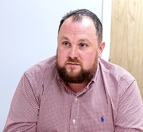 ASF Contracts Manager, Dan Nolan