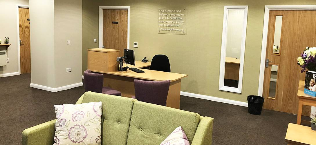 Co-op funeralcare fit out by ASF