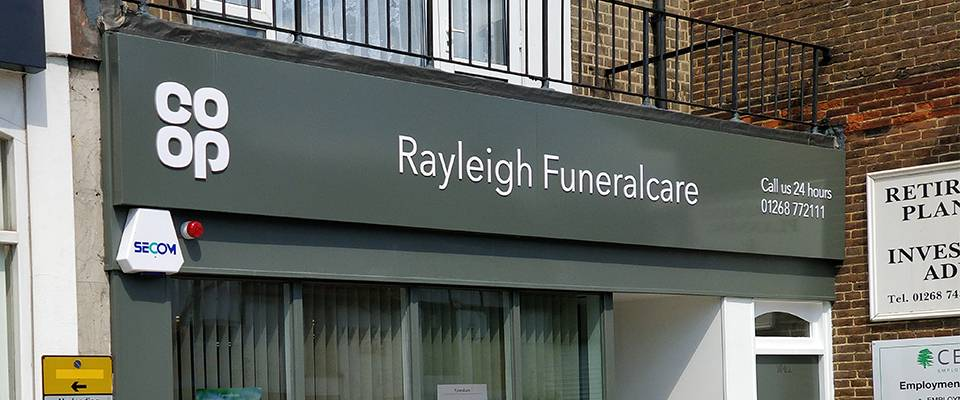 Co-op Rayleigh Funeralcare fit out case study